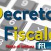 """""""Decreto fiscale"""": nota di lettura ANCI-IFEL"""