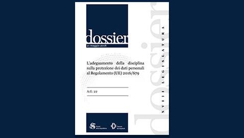 L'adeguamento della disciplina sulla protezione dei dati personali al Regolamento (UE) 2016/679